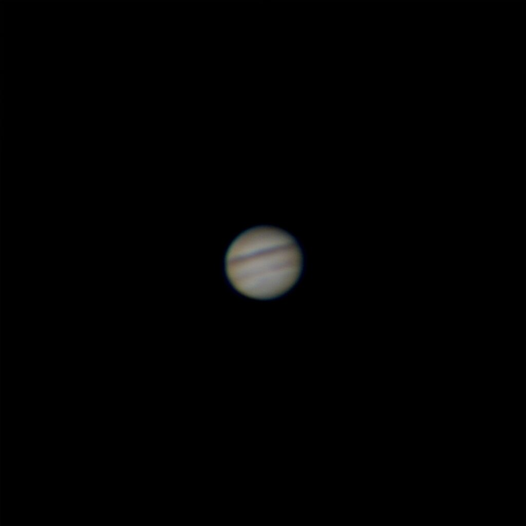 Jupiter and Saturn from the PS80eq
